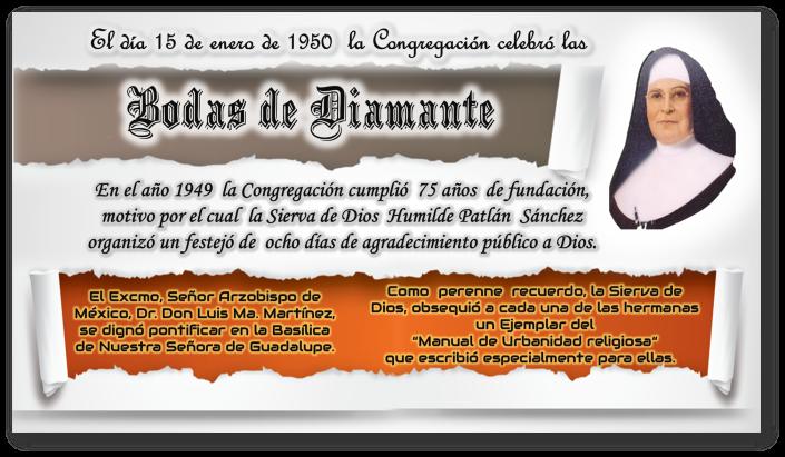 hfic hermanas Franciscanas de la Inmaculada Concepción 15 enero.