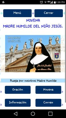 Madre Humilde del Niño Jesús app 2